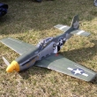 P-51D Mustang  stabenice Alfamodel  rozp.850mm